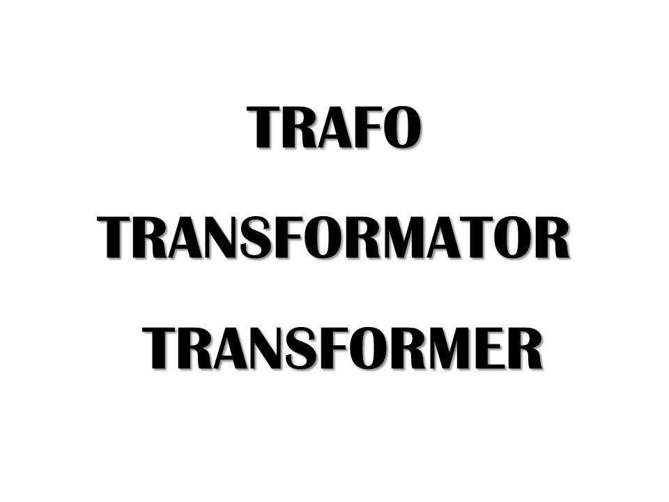 TRAFO/TRANSFORMATOR/TRANSFORMER