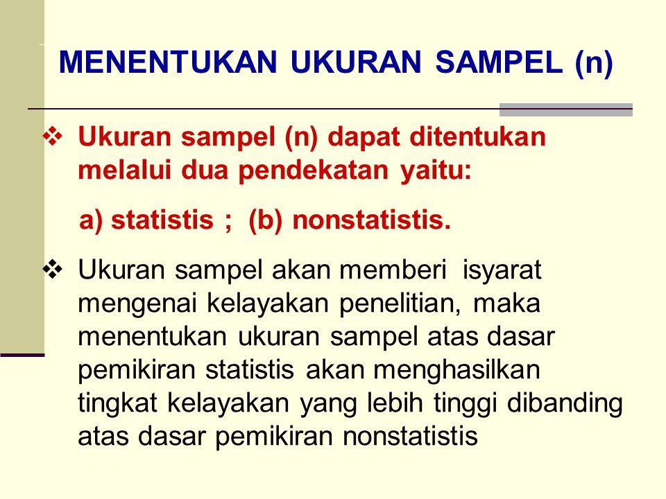 Prosedur Pemilihan Sampel Tiga Tahap Daftar Mahasiswa (Kerangka Sampel) Berdasarkan Jurusan (Unit Sampel Primer) Berdasarkan Tahun angkatan (Unit Samp