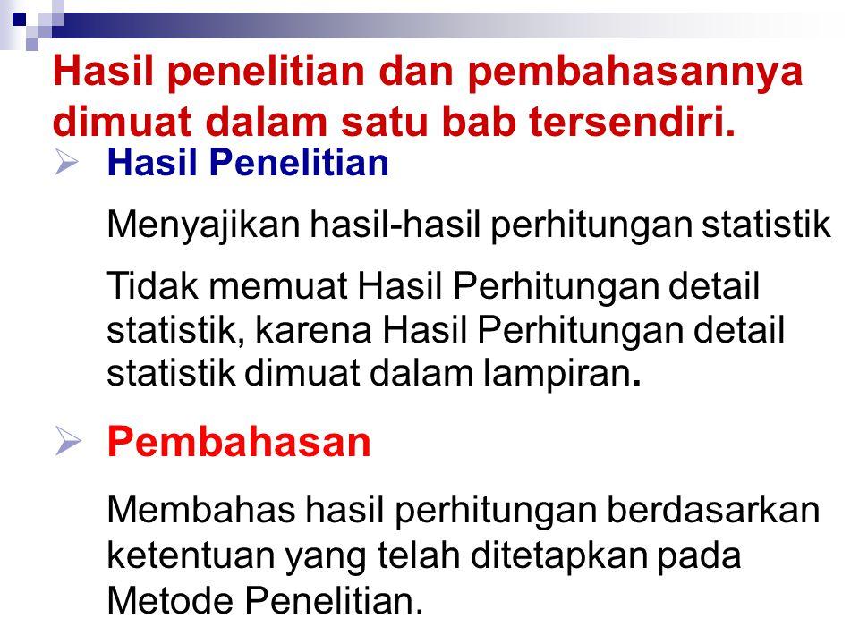 METODE MEMAPARKAN HASIL PENELITIAN DAN PEMBAHASAN HASIL PENELITIAN & PEMBAHASAN 1....................