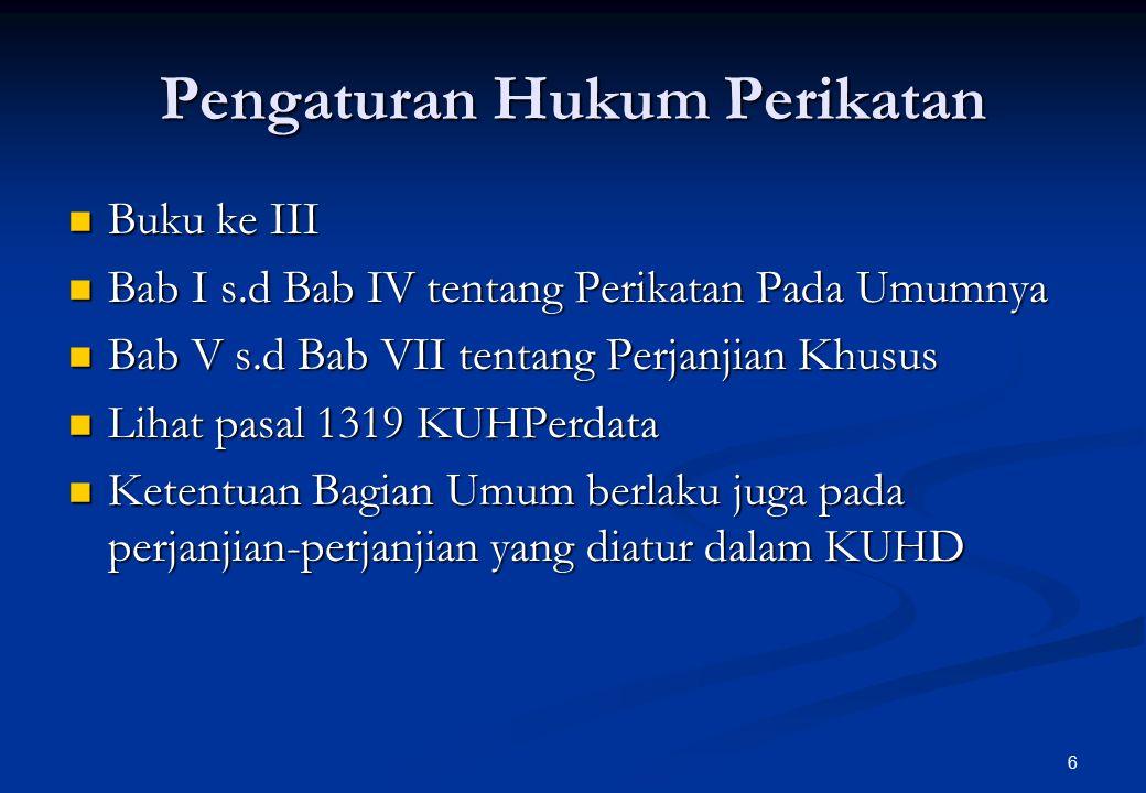 17 Kecakapan (Capacity) Orang Subjek Hukum Badan Hukum Ps.