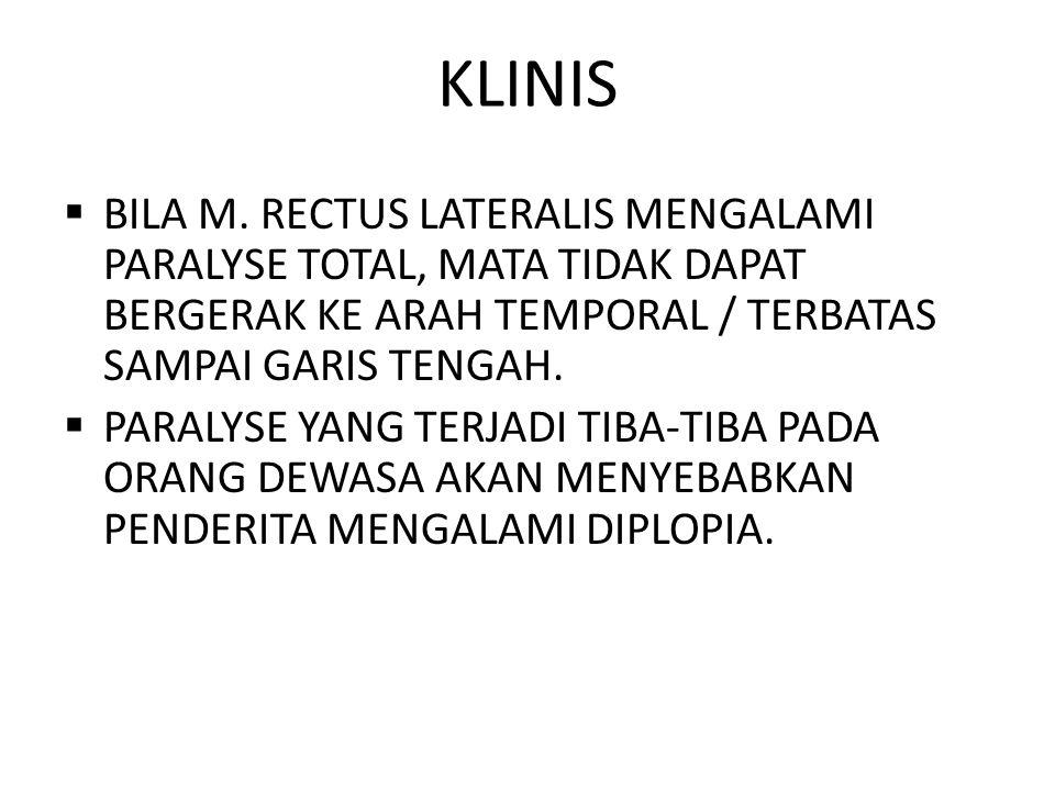 KLINIS  BILA M.