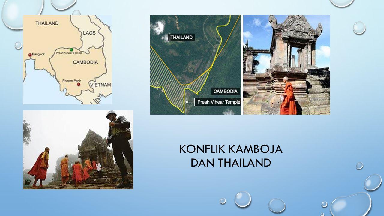 KONFLIK KAMBOJA DAN THAILAND