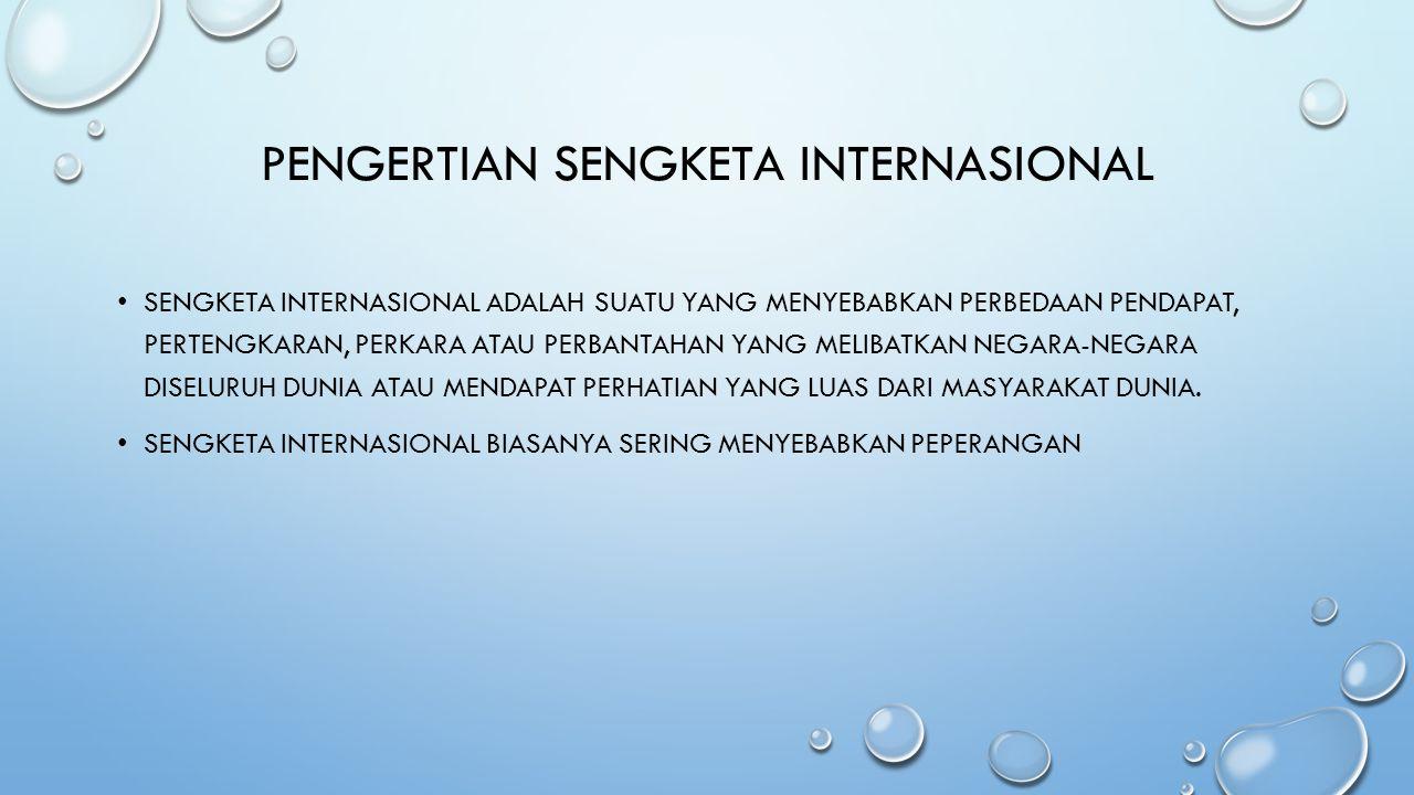 SENGKETA INTERNASIONAL ANTARA INDONESIA DAN TIMOR LESTE PEMERINTAH INDONESIA DAN TIMOR LESTE SALING KLAIM LOKASI SENGKETA DI DESA NELU, KECAMATAN NAIBENU, KABUPATEN TIMOR TENGAH UTARA (TTU), NUSA TENGGARA TIMUR (NTT) YANG MERUPAKAN WILAYAH PERBATASAN KEDUA NEGARA SEBAGAI MILIK MEREKA.