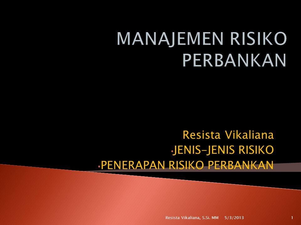  Satuan kerja manajemen risiko harus independen terhadap satuan kerja operasional (risk taking unit) dan terhadap satuan kerja yang melaksanakan fungsi pengendalian internal.