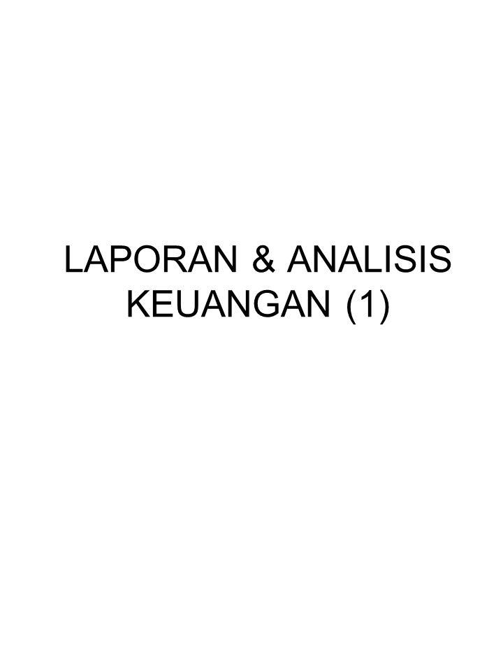 LAPORAN & ANALISIS KEUANGAN (1)