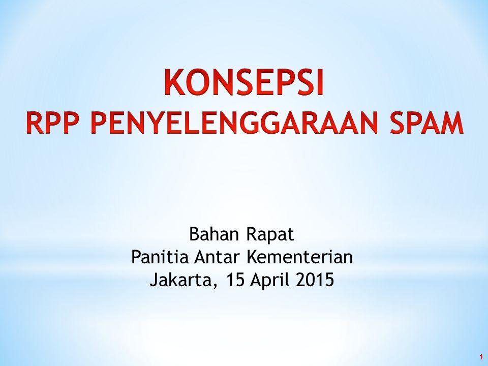 1 Bahan Rapat Panitia Antar Kementerian Jakarta, 15 April 2015
