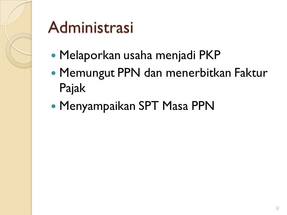Penyerahan yang tidak termasuk dalam pengertian penyerahan BKP a.