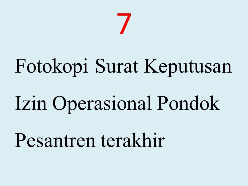 MASA BERLAKUNYA IOPP Izin operasional bersifat temporer, dibatasi waktunya (limited of times), yakni 5 (lima) tahun.
