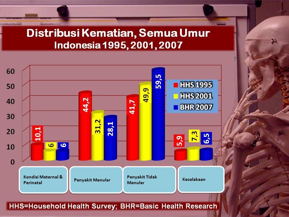 Kondisi Maternal & Perinatal Penyakit Menular Penyakit Tidak Menular Kecelakaan