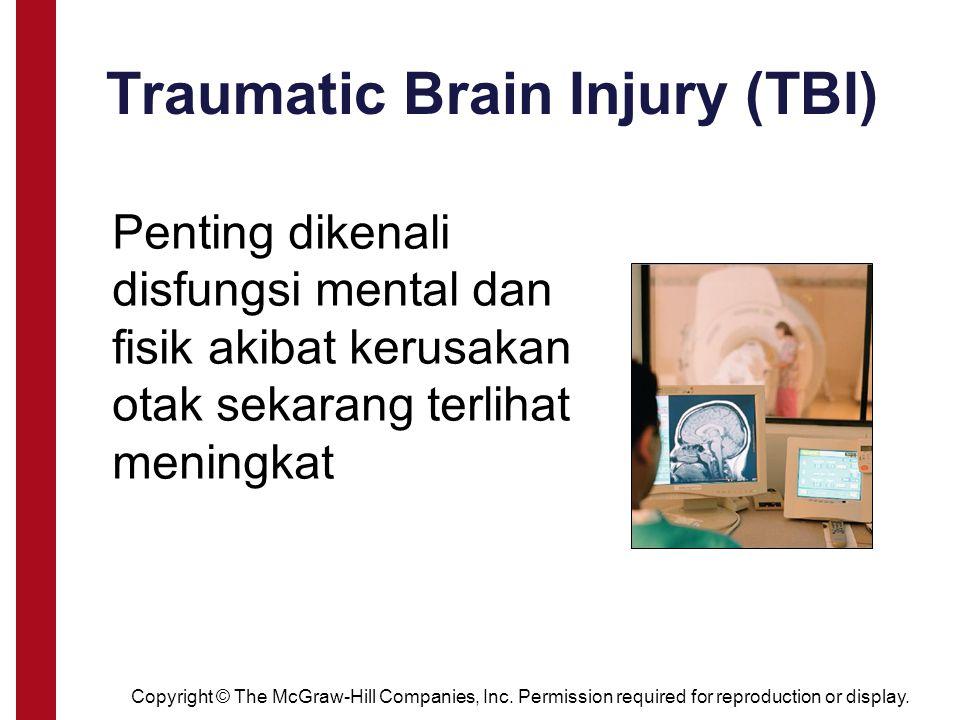 Traumatic Brain Injury (TBI) Penting dikenali disfungsi mental dan fisik akibat kerusakan otak sekarang terlihat meningkat