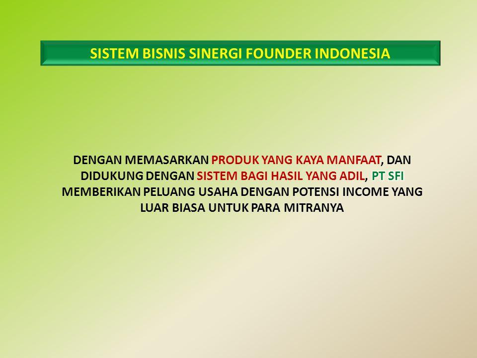 SISTEM BISNIS SINERGI FOUNDER INDONESIA