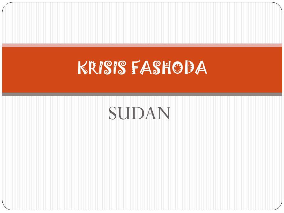 SUDAN KRISIS FASHODA