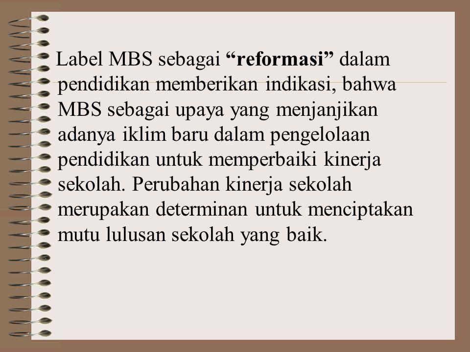 Mengapa MBS ?