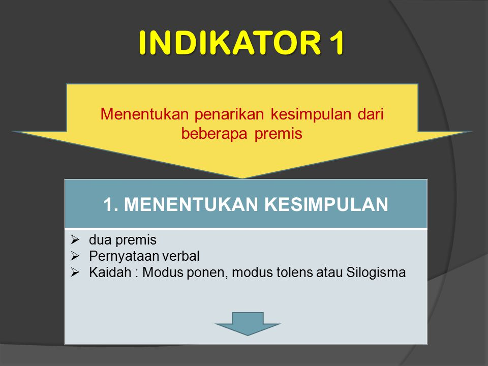 INDIKATOR 12 Menyelesaikan operasi aljabar beberapa vektor dengan syarat tertentu.