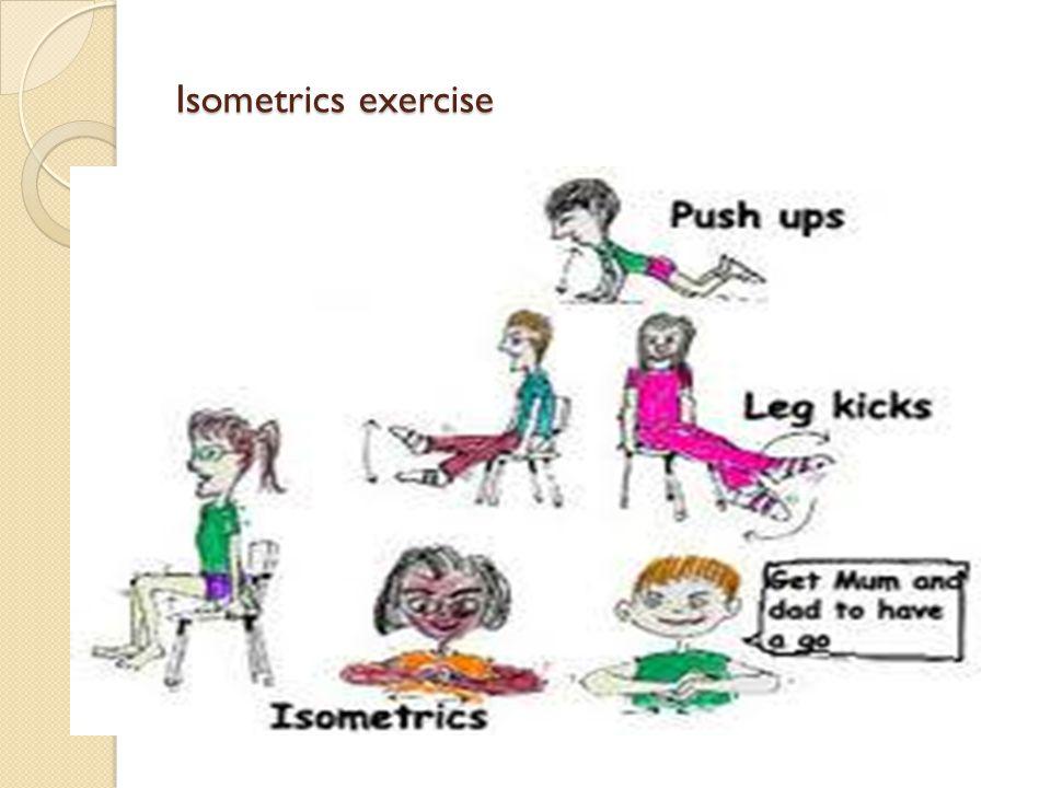 Isometrics exercise