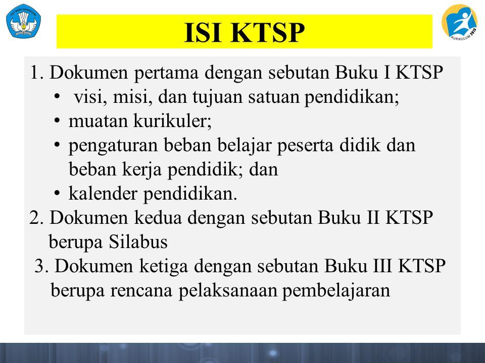 ISI KTSP 1.