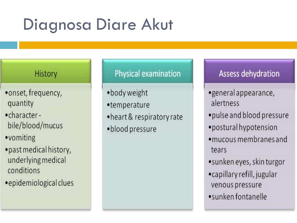 Diagnosa Diare Akut