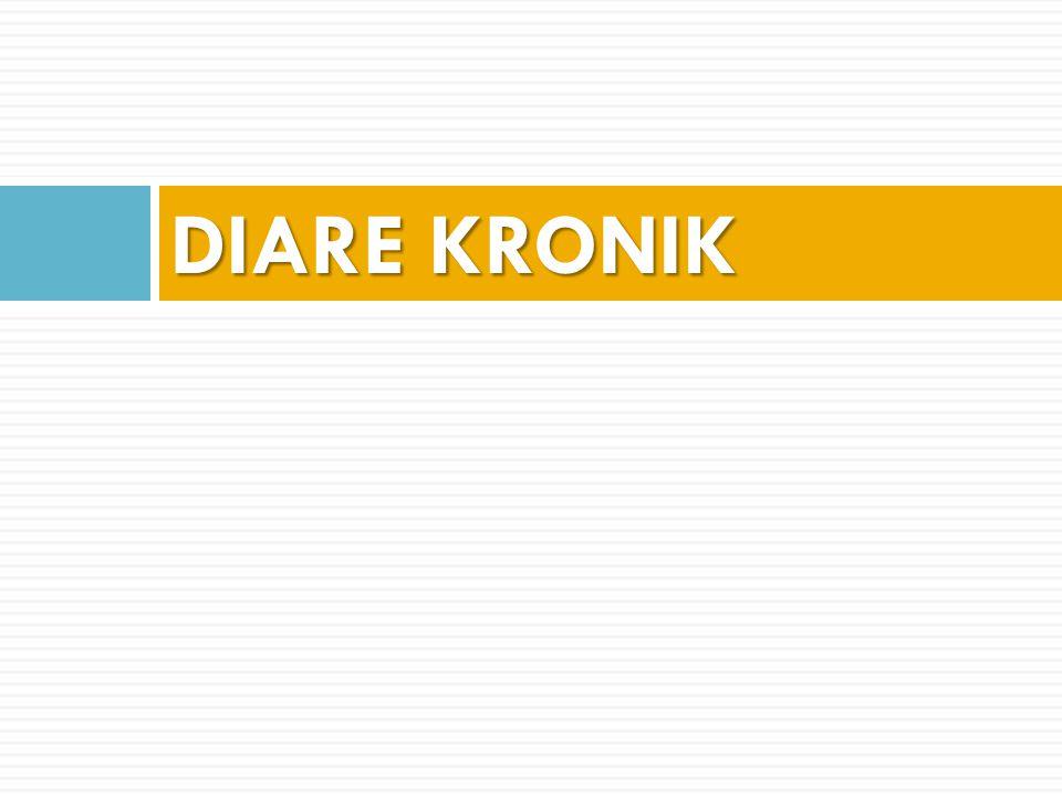 DIARE KRONIK