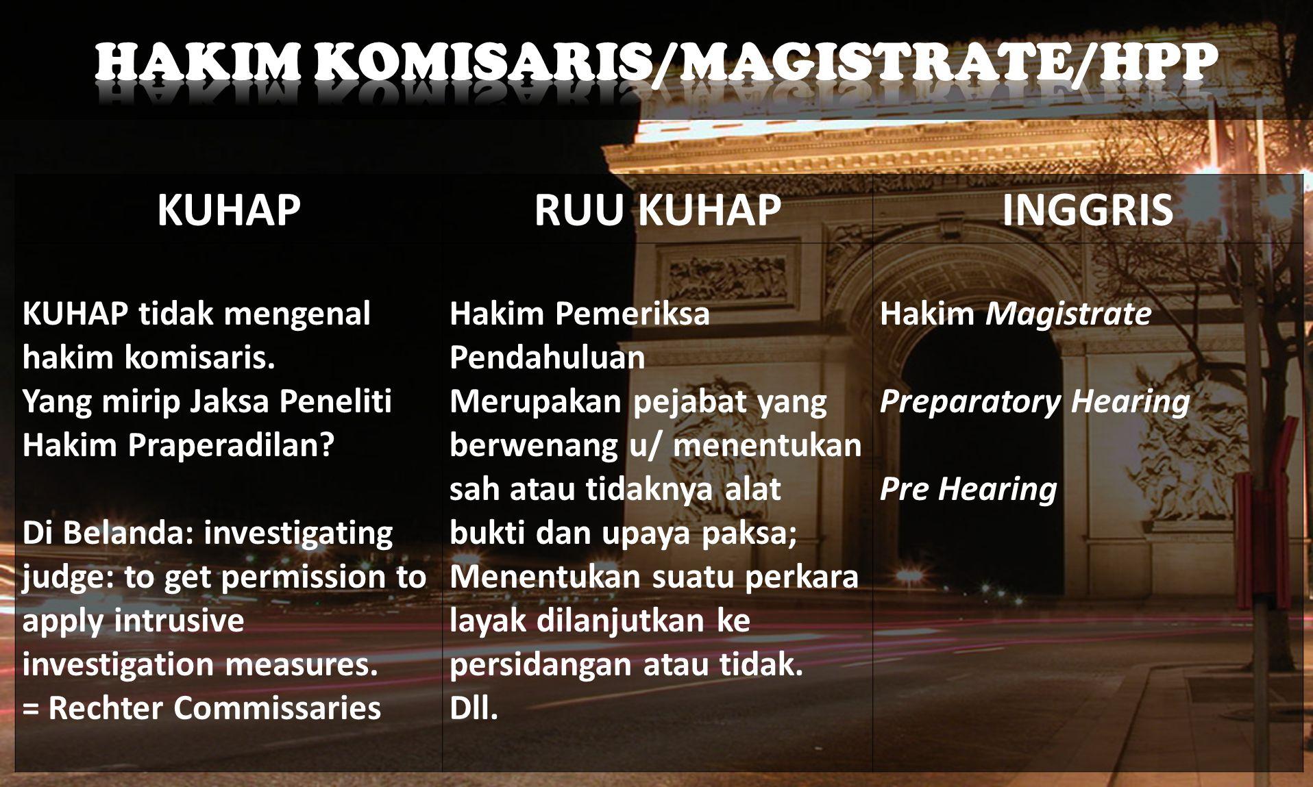 JERMANPRANCISRUSIA a)Keterangan saksi b)Keterangan ahli c)Keterangan terdakwa d)Surat e)Tidak ada AB Petunjuk. a.Pengakuan pihak terkait yang dinilai