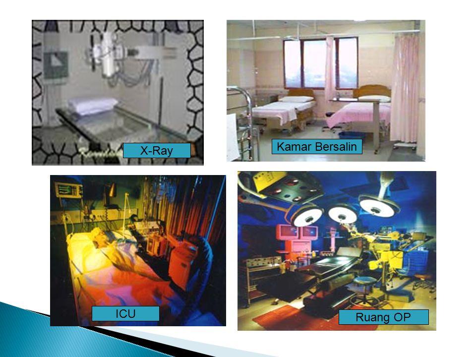 X-Ray ICU Ruang OP Kamar Bersalin