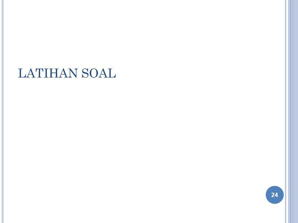 LATIHAN SOAL 24