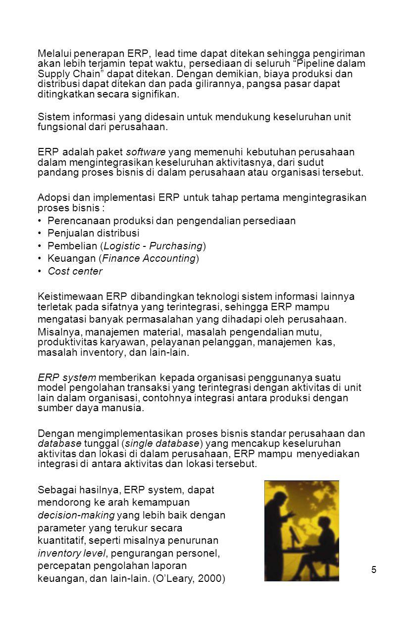 6 Pendekatan Implementasi ERP 1.