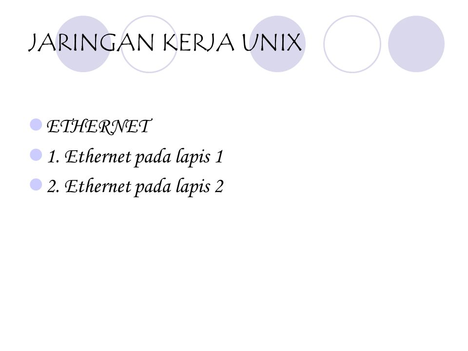 UNIX PROGRAM Sistem Program dalam UNIX