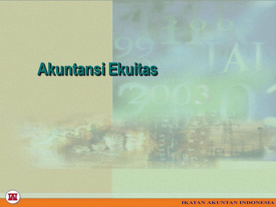 Akuntansi Ekuitas Akuntansi Ekuitas