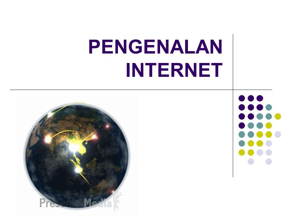 Materi Sejarah internet Konsep dasar Bagaimana mengakses internet Manfaat internet Dampak