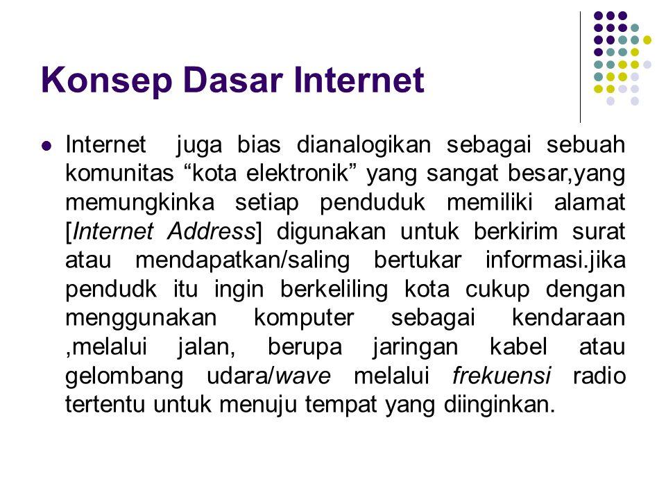 Dampak Positif Internet sebagai media komunikasi Fungsi internet yang paling banyak digunakan dimana setiap pengguna internet dapat berkomunikasi dengan pengguna lainnya dari seluruh dunia.
