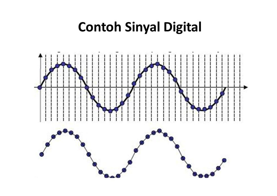 Contoh Sinyal Digital