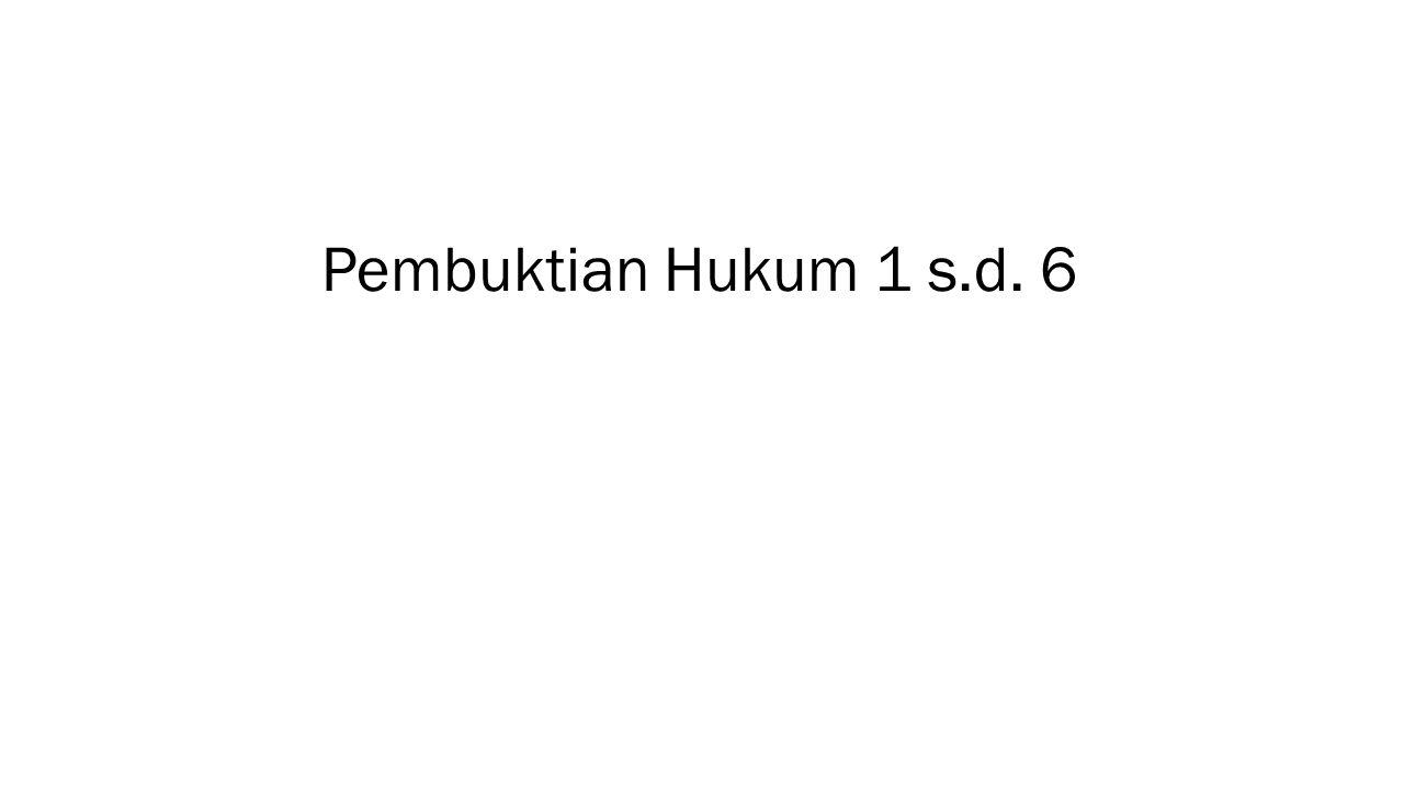 HUKUM IDENTITAS
