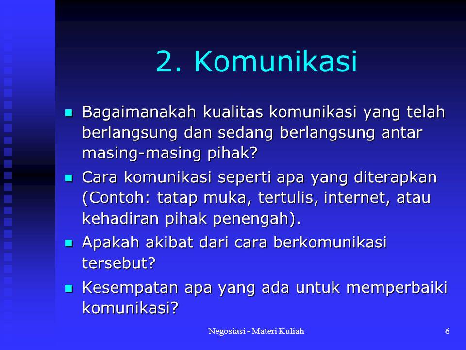 Negosiasi - Materi Kuliah7 3.