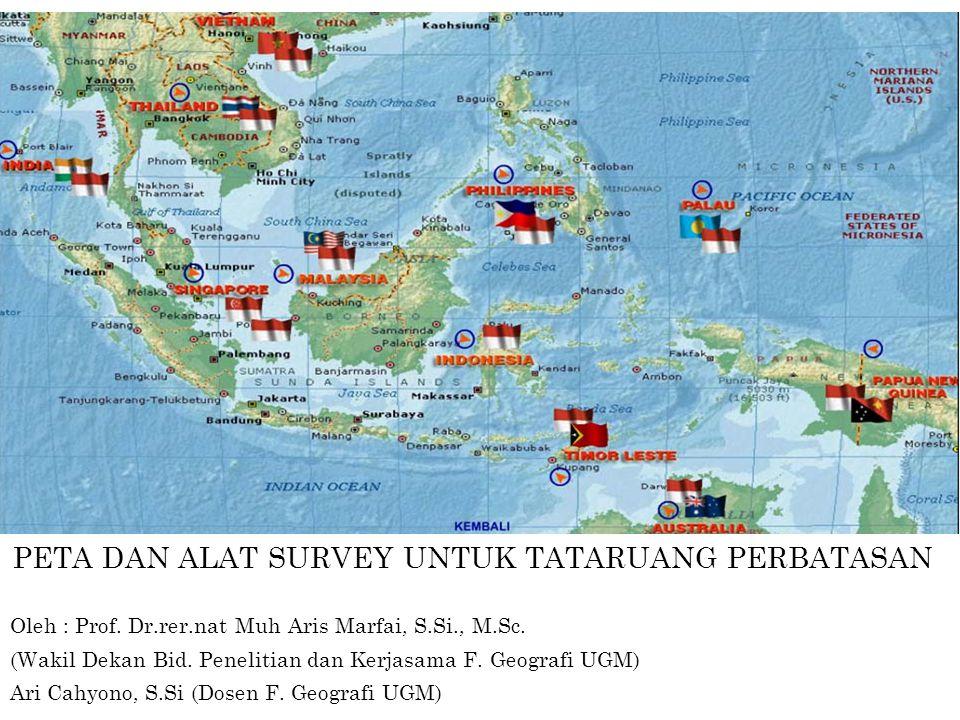 Oleh : Prof. Dr.rer.nat Muh Aris Marfai, S.Si., M.Sc. (Wakil Dekan Bid. Penelitian dan Kerjasama F. Geografi UGM) Ari Cahyono, S.Si (Dosen F. Geografi
