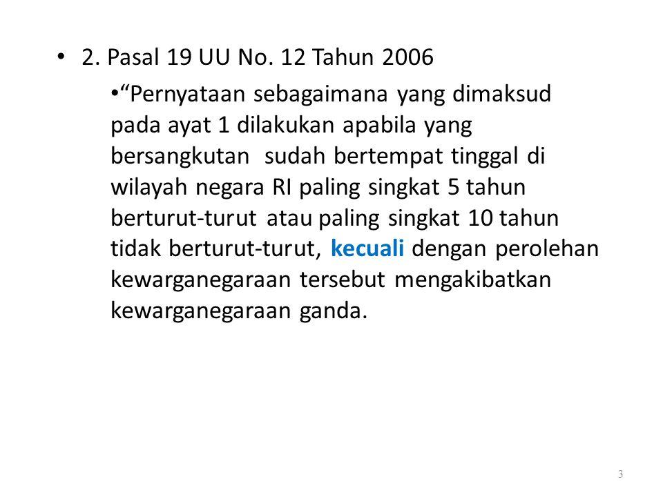 Dasar Hukum penerbitan SKIM Ada lima dasar hukum yang dijadikan acuan, yaitu: 1.