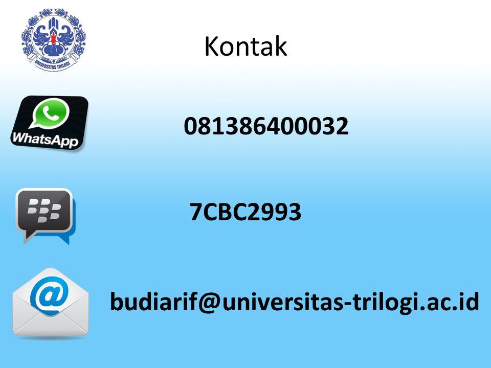 KOMPUTER DAN KEMANAN SISTEM INFORMASI Disusun oleh : Budi Arifitama,ST,MMSI ---------------------------------------------------- Fakultas Telematika Universitas Trilogi