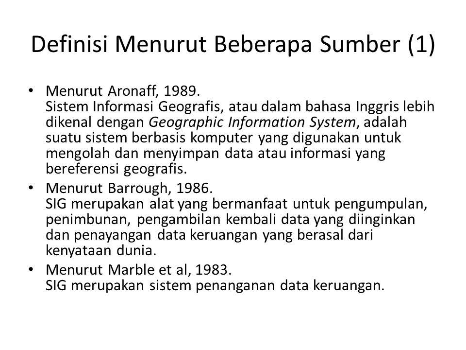Definisi Menurut Beberapa Sumber (2) Menurut Berry, 1988.