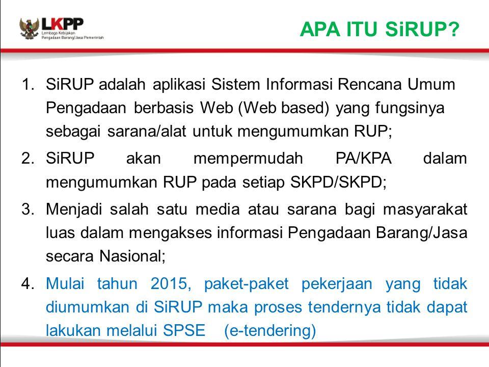 APA ITU SiRUP.