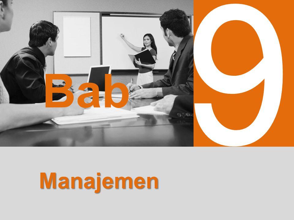 untuk SMA dan MA Jilid 1 Bab 9 Manajemen EKONOMI 2 9 Bab Manajemen