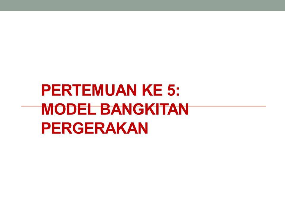 8.2.7.2 Kajian Standarisasi bangkitan & tarikan lalin di zona Bandung Raya Model bangkitan & tarikan ditunkan melalui analisis regresi.