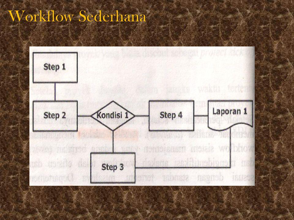 Workflow dengan beberapa bagian