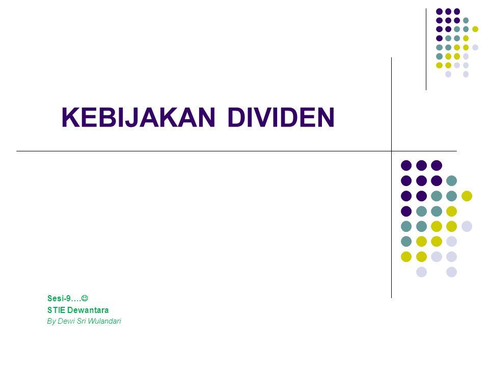 . Diminta untuk menghitung devidend yang dibayarkan, bila perusahaan menggunakan kebijakan : DPR yang konstan Residual devidend ; jika akan dipertahankan ratio debt to total assets sebesar 40%