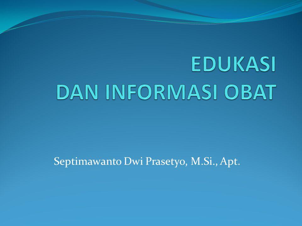 Septimawanto Dwi Prasetyo, M.Si., Apt.