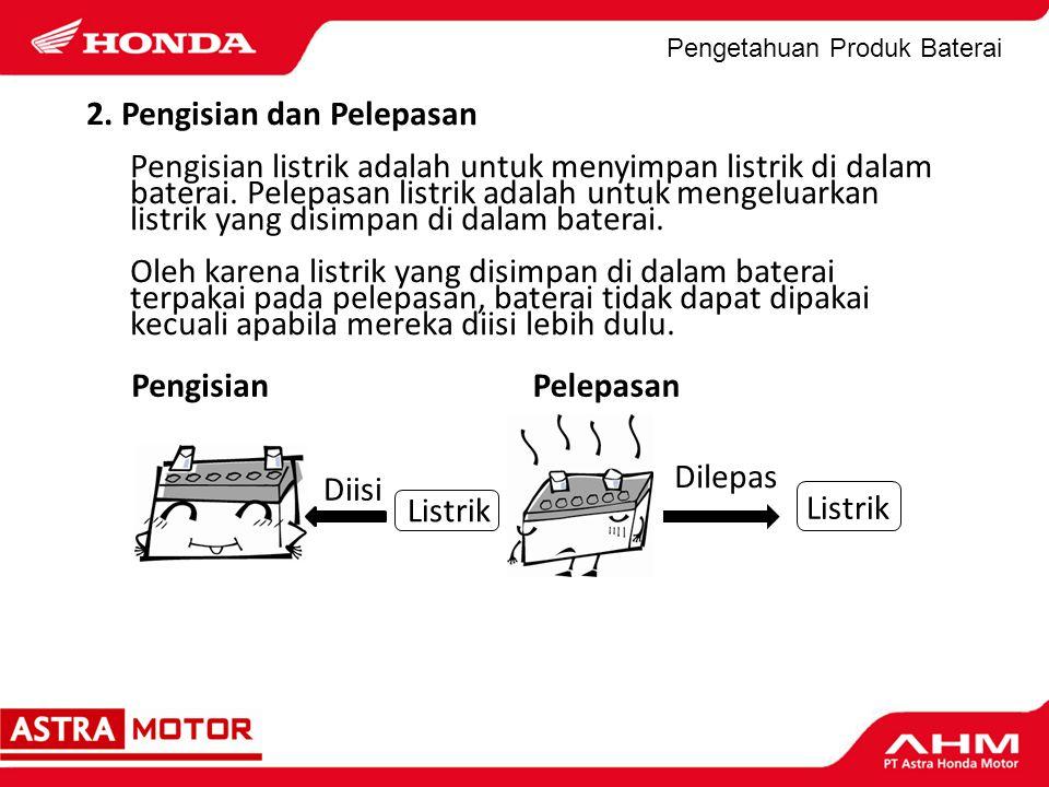 Pengetahuan Produk Baterai Jangan pernah meletakkan alat logam atau benda serupa diatas baterai.