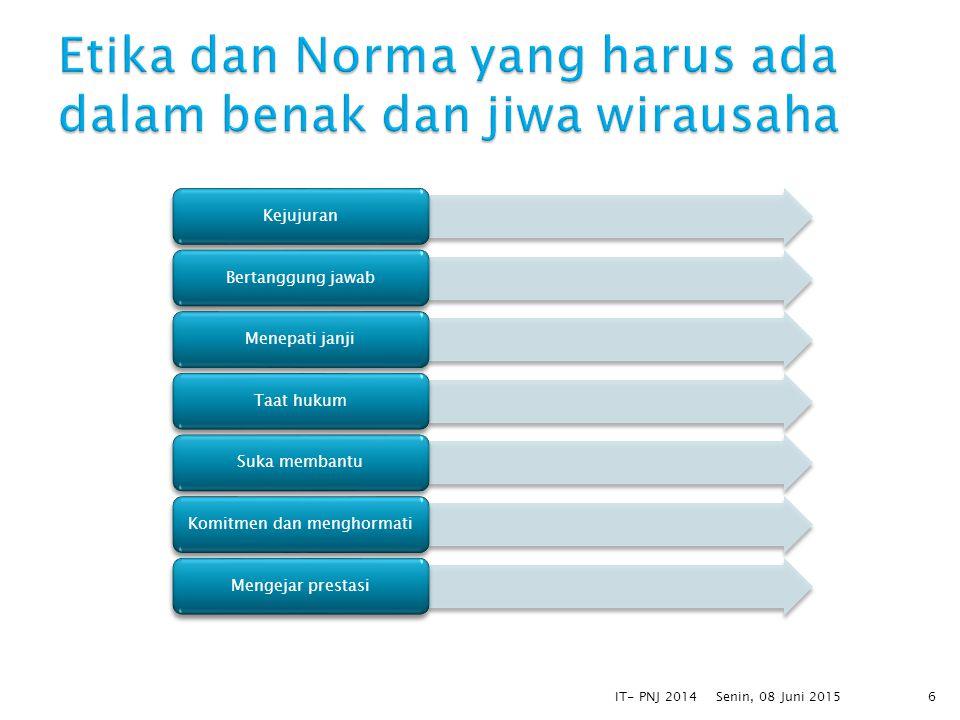 Untuk persahabatan dan pergaulanMenyenangkan orang lainMembujuk pelangganMempertahankan pelangganMembina dan menjaga hubungan Senin, 08 Juni 2015IT- PNJ 20147