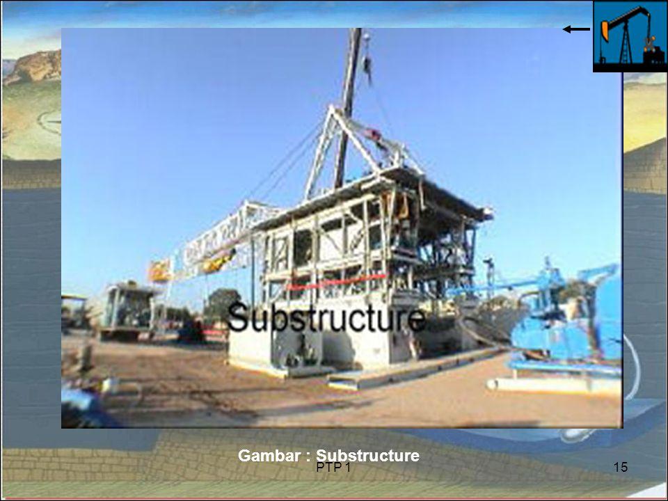 PTP 115 Gambar : Substructure