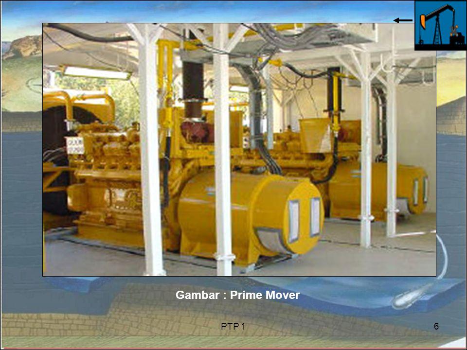PTP 16 Gambar : Prime Mover