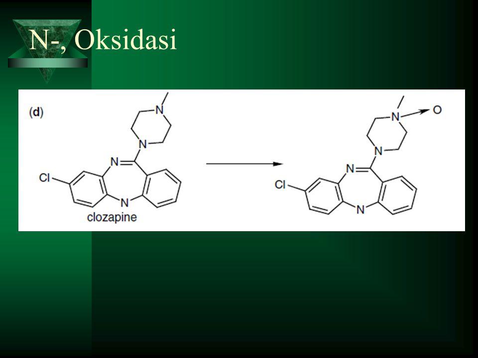 N-, Oksidasi