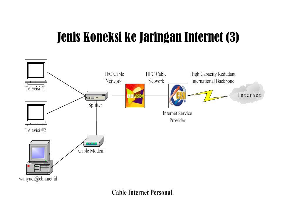Jenis Koneksi ke Jaringan Internet (3)