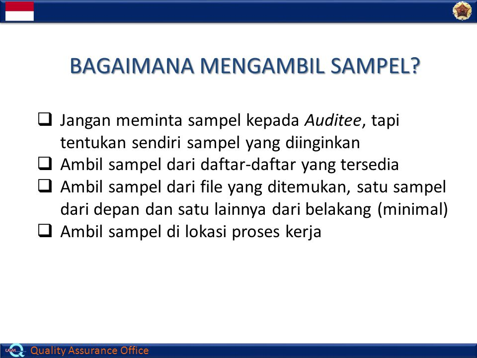 Quality Assurance Office Tugas III (Test)
